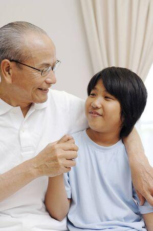grandad: Grandad and grandchild