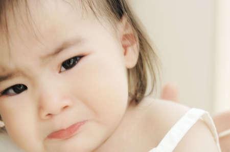 tearful: Tearful face