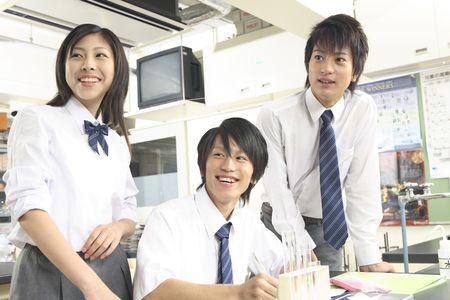 schoolroom: Image of high school students