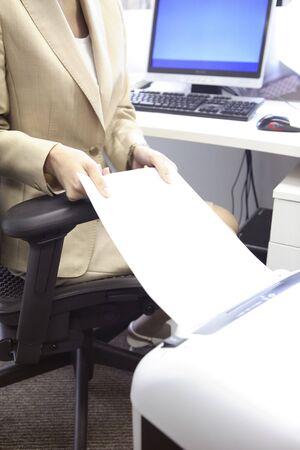 shredder: Japanese office lady doing a shredder