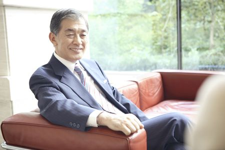 Japanese chief executive officer 스톡 콘텐츠