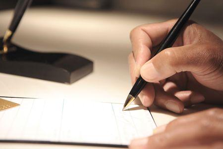 signature: Signature Stock Photo