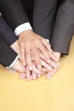 Big pile of hands