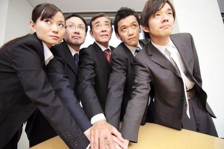 solidaridad: Oficinistas japoneses fortalecer la solidaridad