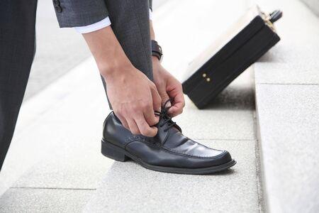 shoe string: Business image