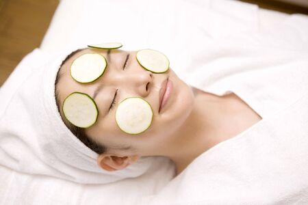 beauty treatment: Image of beauty treatment Stock Photo
