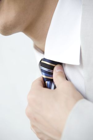 necktie: Necktie of office worker