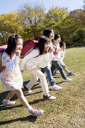 일본어 초등 학생 스톡 콘텐츠