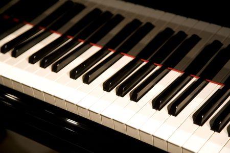 musical score: Piano Stock Photo