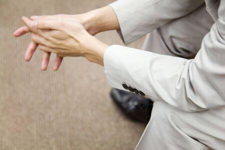b�roangestellte: Hands of Japanischer B�roangestellter