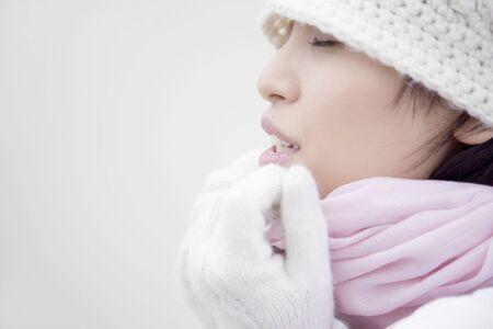 japanes: Portrait of Japanese woman Stock Photo