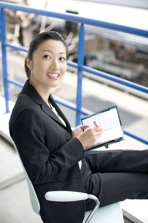 datebook: Business lady Stock Photo