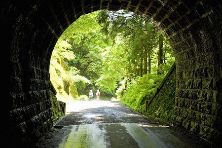 noted: Amagi tunnel Stock Photo