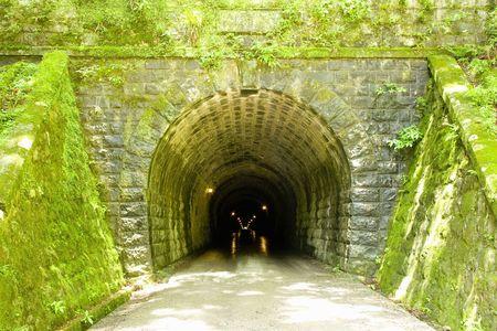 Amagi tunnel Banco de Imagens
