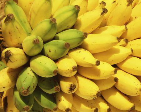 バナナ、 写真素材