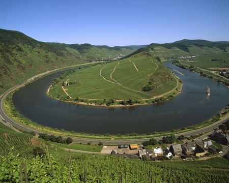 mosel: Mosel Stock Photo