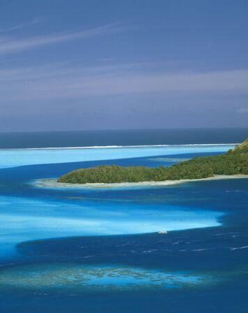ボラボラ島 写真素材