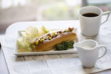 sausage pot: Hotdog