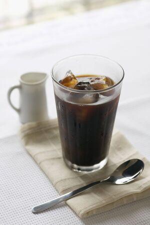 アイス コーヒー 写真素材