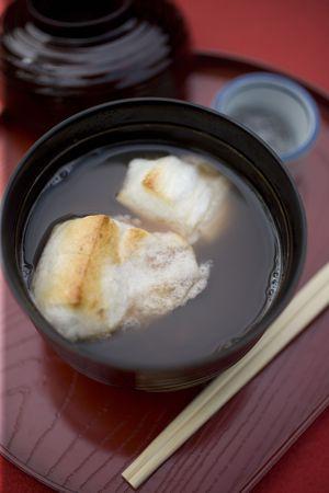 adzuki: Sweet adzuki soup
