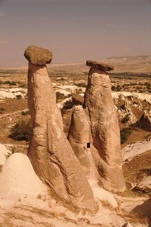 craggy: Cappadocia Stock Photo