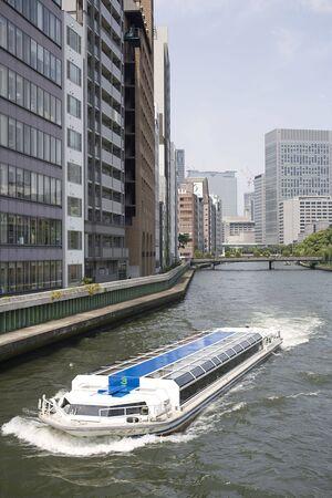 水上バス 写真素材