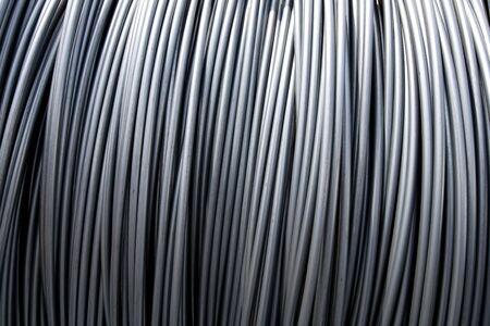 steel wire: Steel wire Stock Photo