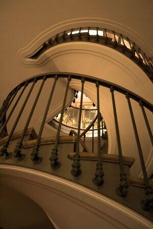 らせん階段 写真素材