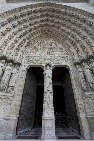 basilica: Notre-Dame Basilica Stock Photo