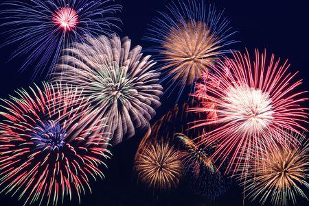 colorfulness: Fireworks