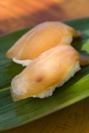 sea bream: Sea bream sushi