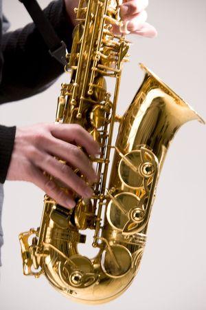 saxophone: Saxophone Stock Photo