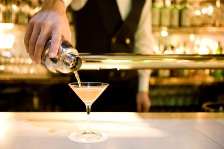 gorgeousness: Bar counter Stock Photo