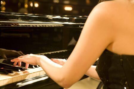 gorgeousness: Piano Stock Photo