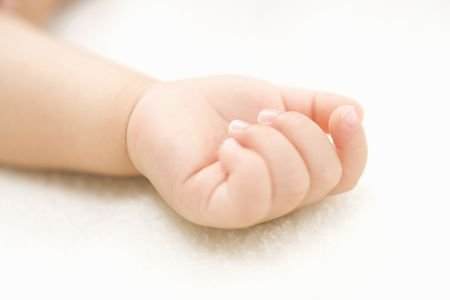 tiny: Tiny hand of baby