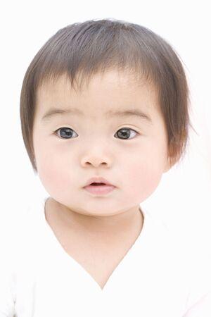 japanes: Japanese baby Stock Photo