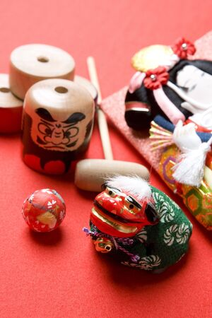 winter dance: Image of Japanese New Year