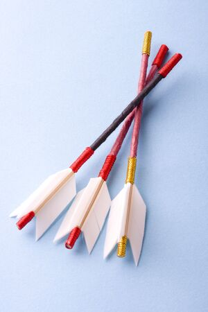 supposed: Arrow used in exorcising ceremonies