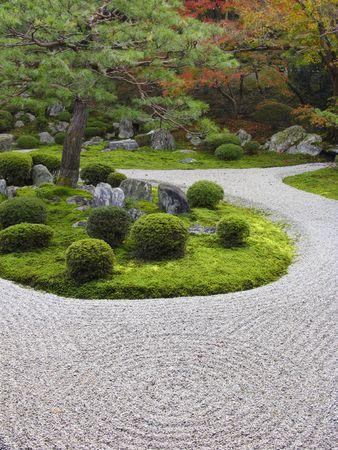 settling: Manshu-in temple garden