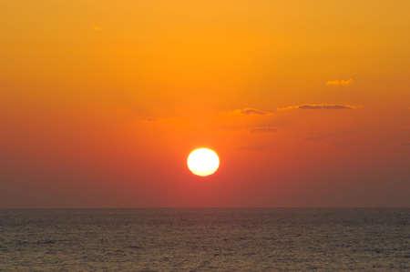 settling: Evening sun