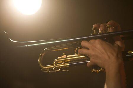 trompeta: Trompeta Foto de archivo
