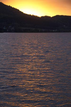 evening glow: Evening glow