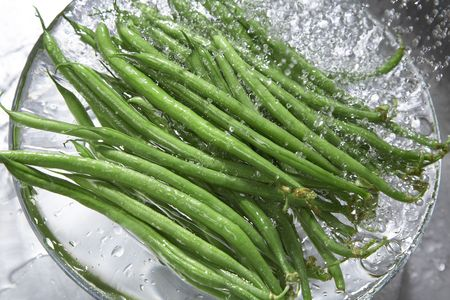common bean: Common bean Stock Photo