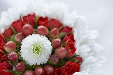 arreglo floral: Arreglos florales Foto de archivo
