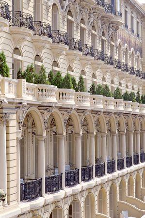 carlo: Hotel Hermitage Monte Carlo Stock Photo