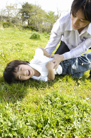 Father and child Stock Photo - 6193629