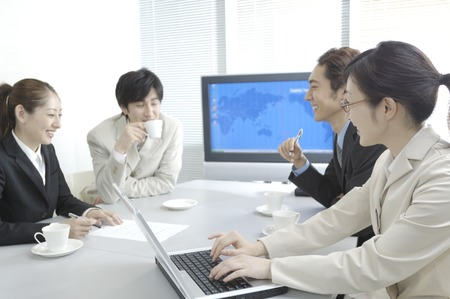 Office workers Stock Photo - 6193765