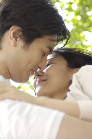 Japanese couple Stock Photo - 6193816