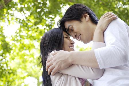Japanese couple Stock Photo - 6193818