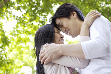 Japanese couple Stock Photo - 6193818